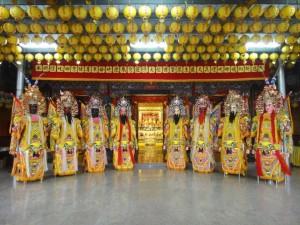 台灣蘆州護天宮的八神將