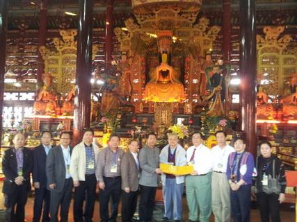 香港道教界訪閩南宗教名跡