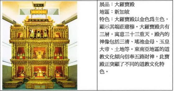 新加坡金碧輝煌的大羅寶殿