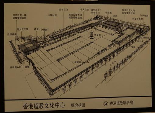 擬定申建香港道教文化中心