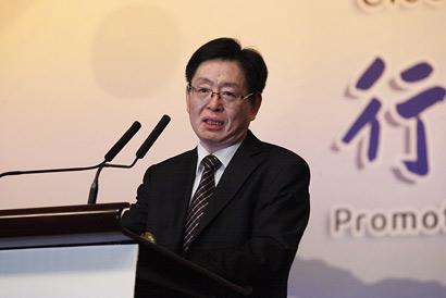 中华宗教文化交流协会会长、国家宗教局局长王作安出席闭幕式并致辞