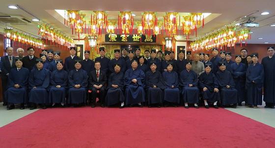 香港道教聯合會第25屆理事會大合照