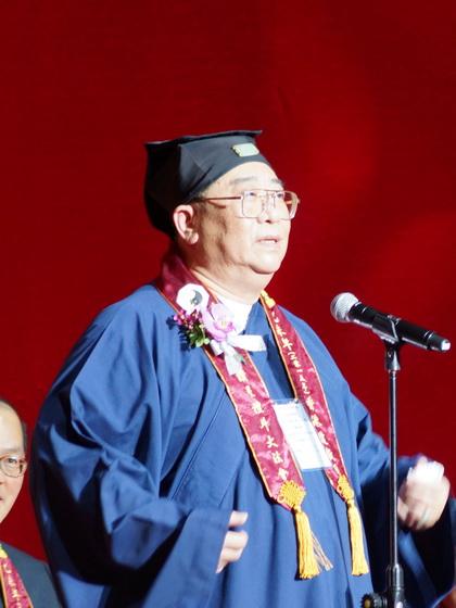 香港道教聯合會主席、道教蓬瀛仙館副理事長 梁德華道長