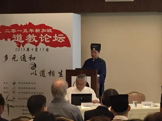 中國道教協會副會長丁常雲道長