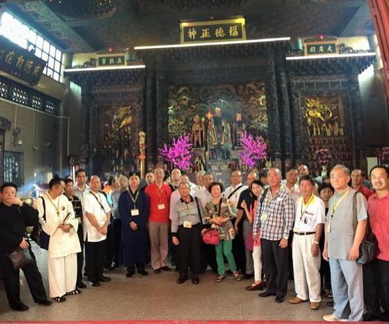 拜訪洛陽大伯公廟
