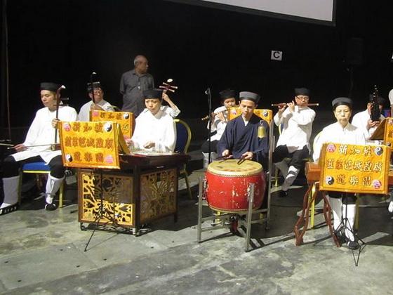 新加坡韮菜芭城隍廟道樂團