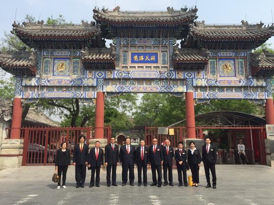香港蓬瀛仙館第二十二屆理事會成員及工作人員