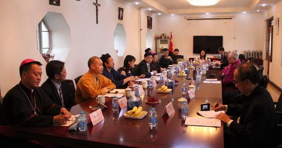 北京宗教團體負責人座談會