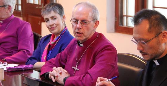 英國坎特伯雷大主教韋爾比