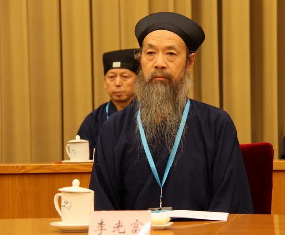李光富道長當選中國道教協會第九屆理事會會長