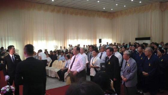 梁德華道長率領香港道教聯合會會屬道堂致祭