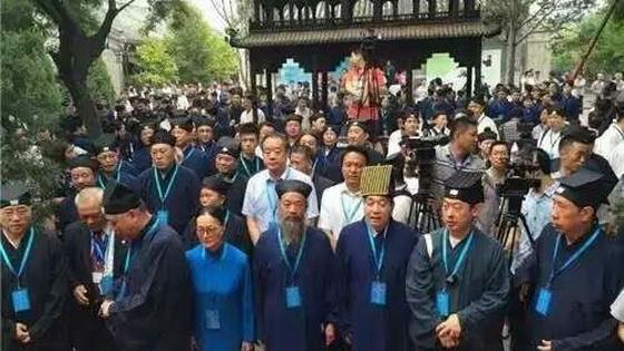 中國道教協會紀念抗日戰爭70周年和平祈禱法會大合照