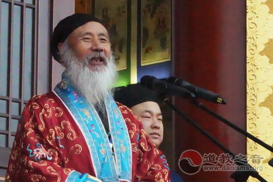 中國道教協會諮議委員會主席任法融道長