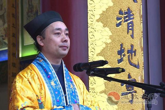 陝西省道教協會會長胡誠林道長