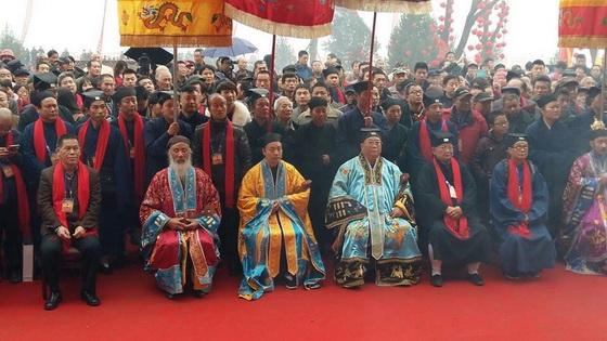 陝西寶雞金台觀三清殿落成慶典暨開光法會