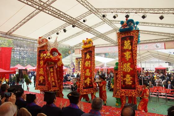 醒狮为香港祝愿
