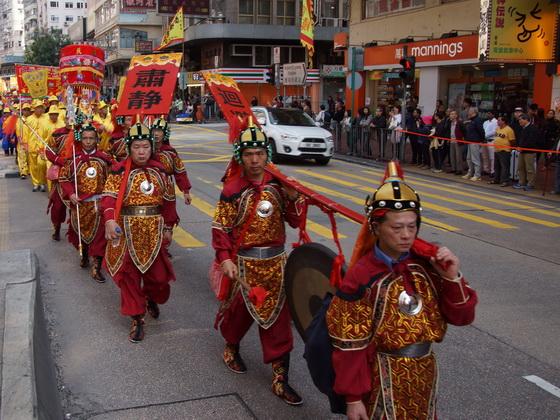 香港聖公壇廣澤天王巡遊隊