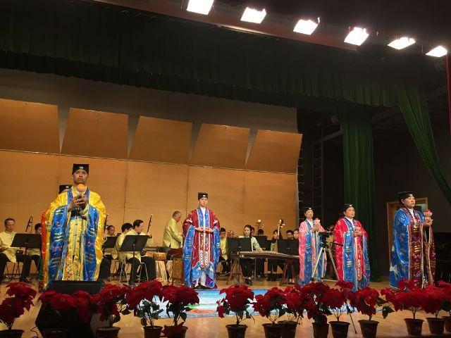 澳門道樂團及道協法務團在中國音學學院獻演富本土特色道樂