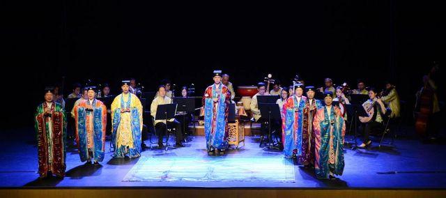 澳門道樂團及道協法務團在西安音樂學院獻演富本土特色道樂